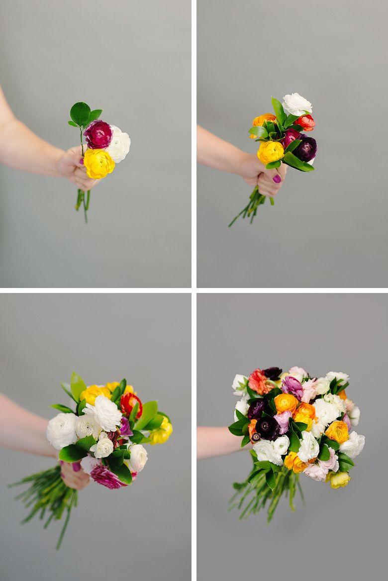 Diy Bouquet Basics For Non Pros Wedding And Wedding