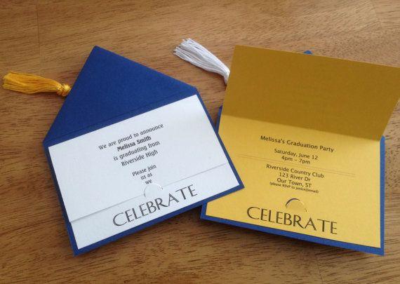 colores de la escuela de graduaci u00f3n invitaci u00f3n fiesta