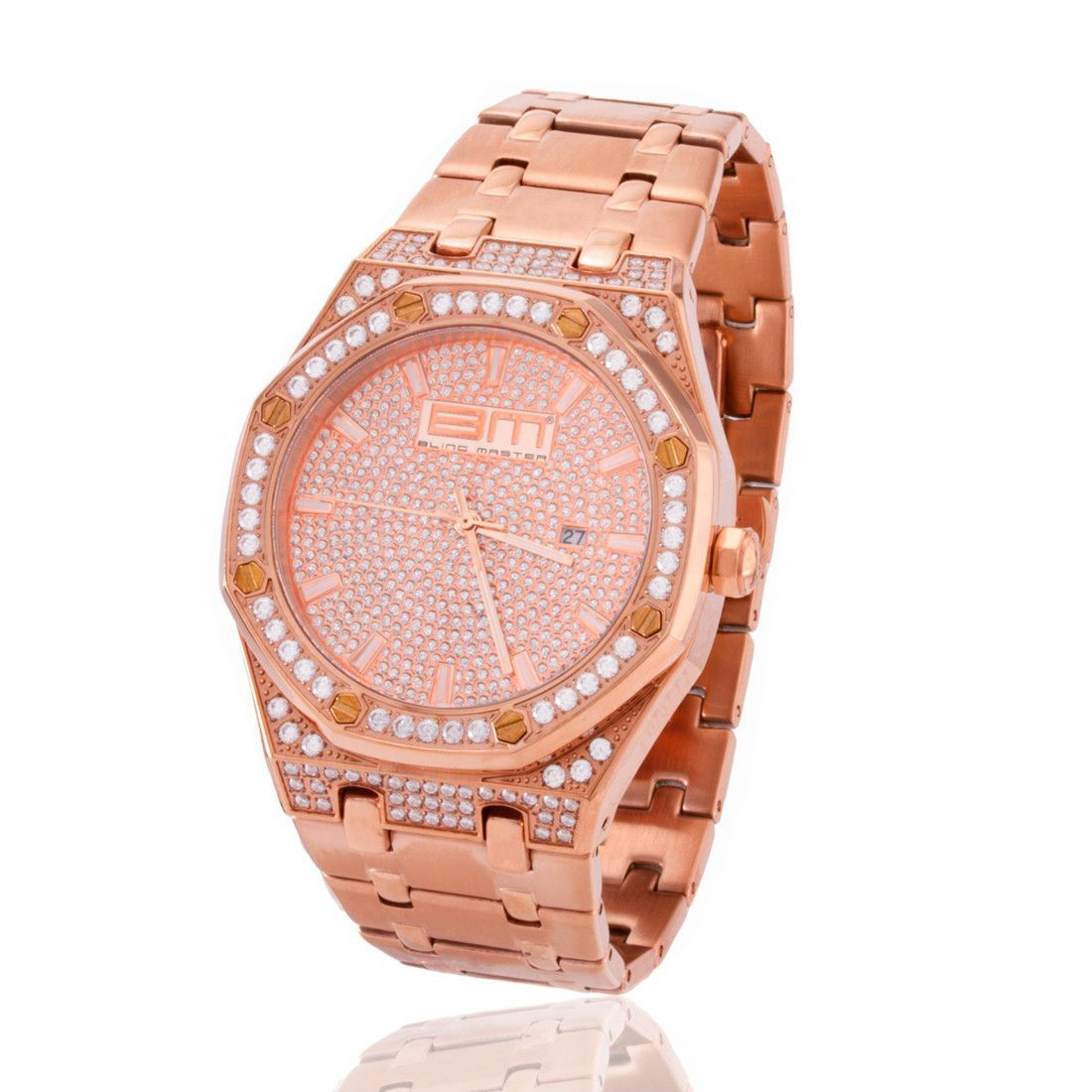 The Rose Gold Exec Watch