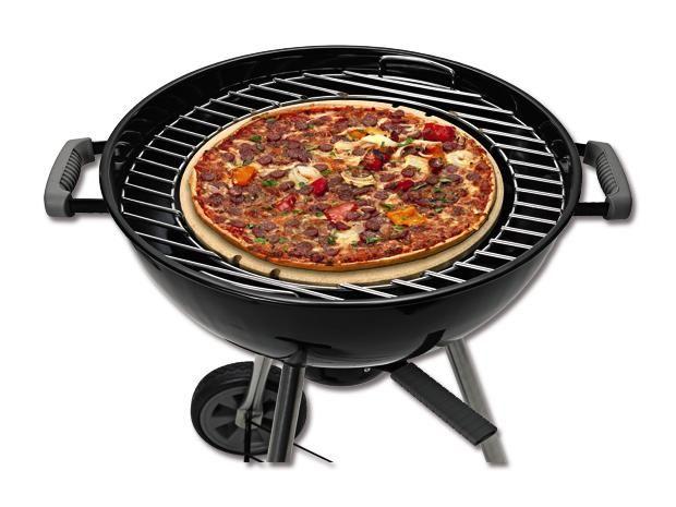 Weber Holzkohlegrill Pizzastein : Kingstone pizzastein grillsaison pizza