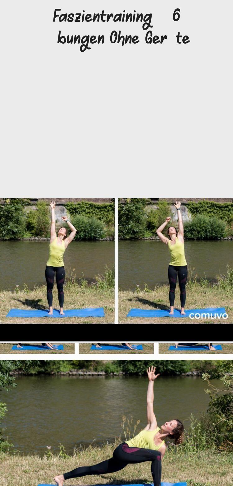 Faszientraining - 6 Übungen für zu Hause comuvo Blog #fitness #fascia #train .... -  Faszientraining...