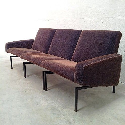 Joseph Andre Motte Sectional Sofa For Steiner 1950s Mobilier