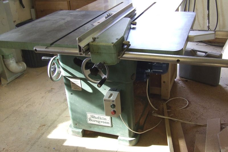 Wadkin Bursgreen 12 Ags Table Saw Table Saw Table Saw Stand Saw