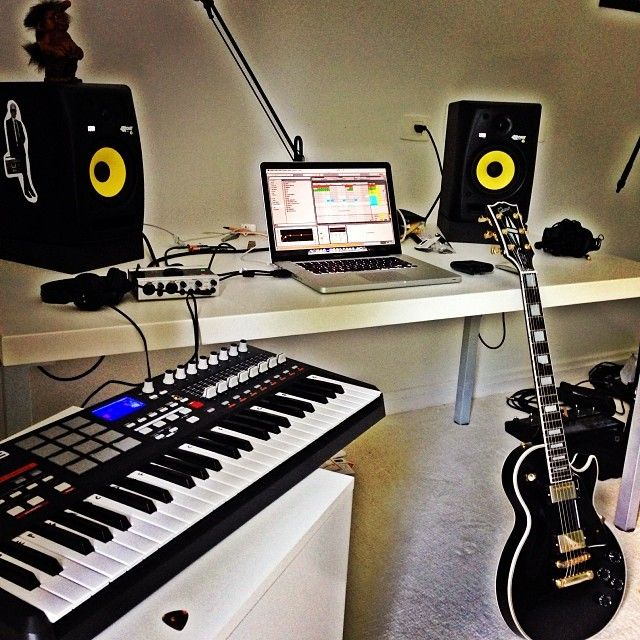 Pin by Alex Jasmin on Dream house | Home studio music, Music
