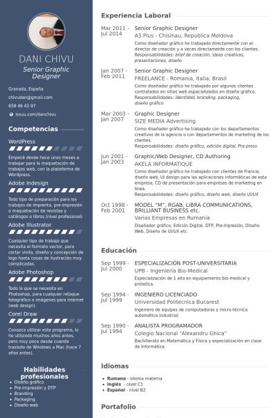 Senior Graphic Designer Resume | Pin By Daniela Ivanova On Cv Pinterest Resume Sample Resume And
