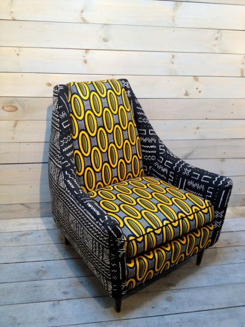 Funky Chic African Print Furniture Fashion Www Zuvalifeculture