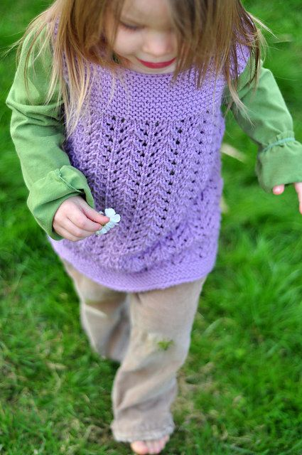 Free Knitting Patterns For Childrens Clothes : Free Knitting Pattern - Toddler & Childrens Clothes: February Toddle...