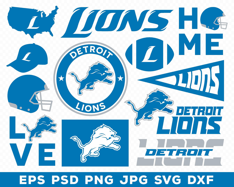 Detroit Lions Detroit Lions Logo Detroit Lions Svg Detroit Lions Clipart Detroit Lions Lions Svg Lions Logo Li Detroit Lions Logo Lion Images Lion Logo