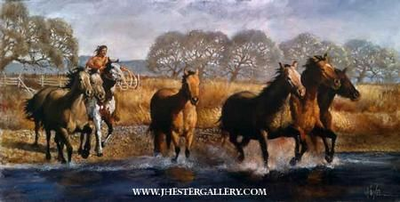 Native American Prints by J. Hester 137