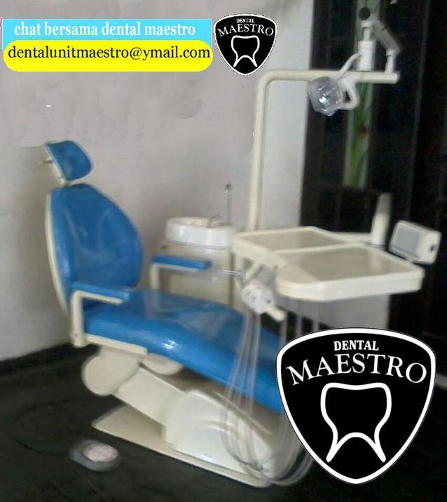 dental unit full elektrik dengan elektrical motor actuator serta dilengkapi dengan slang smc japan