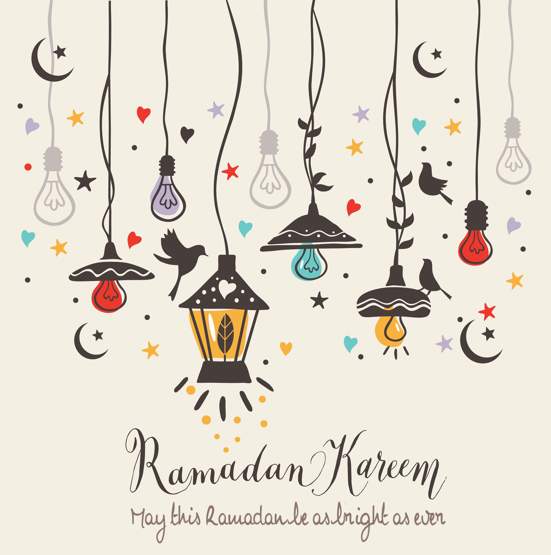 Ramadan 1438 Ramadan Cards Ramadan Kareem Decoration Ramadan Crafts
