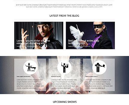 Php Website Templates 6 Stunning Website Templates Reflecting Transparent Overlays