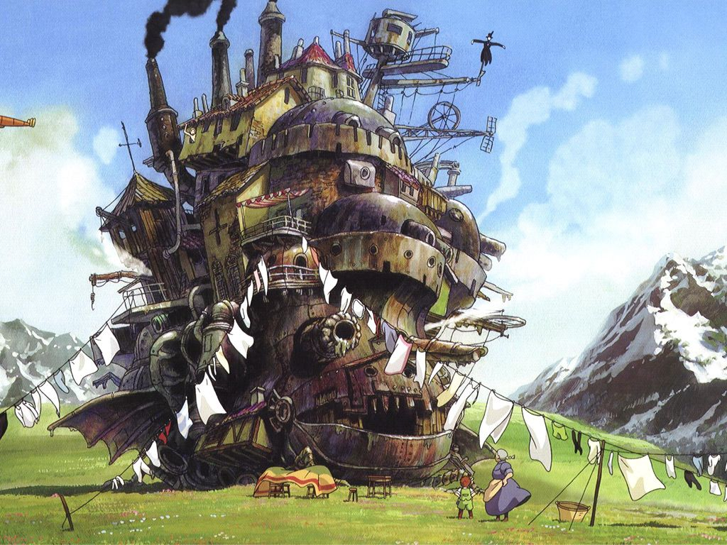 Hayao Miyazaki Howl S Moving Castle 2004 Howls Moving Castle Howl S Moving Castle Studio Ghibli