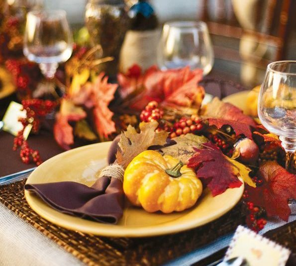 Thanksgiving Place Setting Indeed Decor
