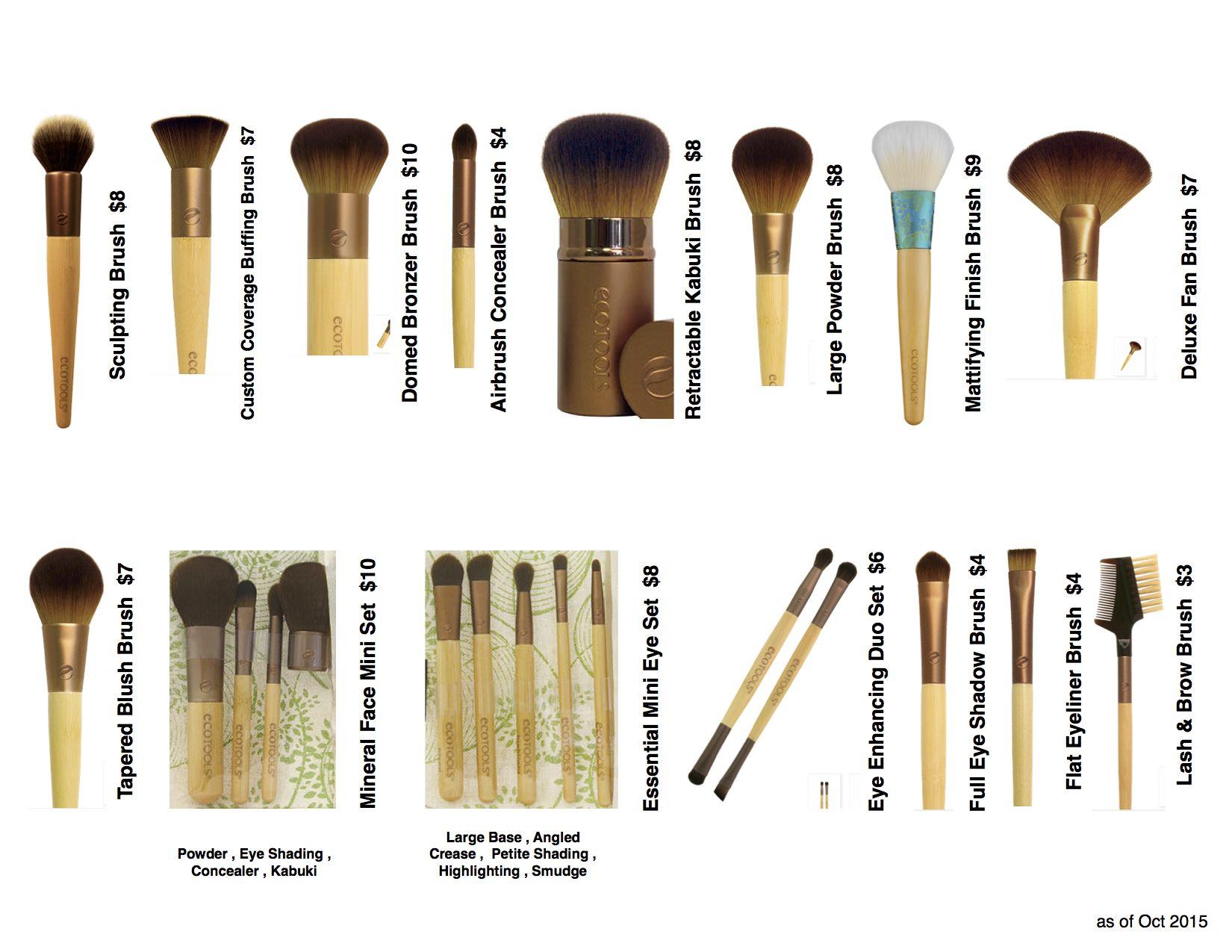 EcoTools Brushes Ces pinceaux sont une PURETUERIE ! Jolis