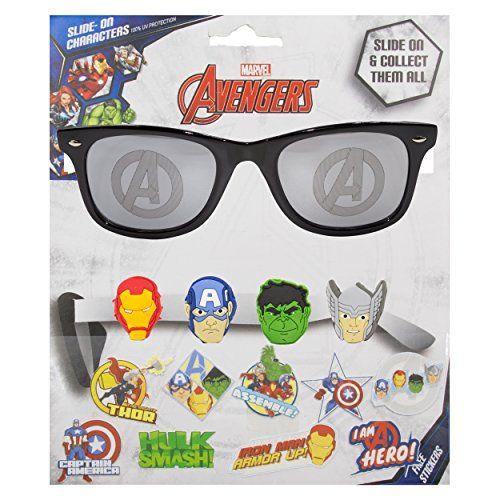 04b13b8b360 Marvel Avengers Kids Children Boys Sunglasses with 100% UV Protection  Sunglasses with 3D Slide-