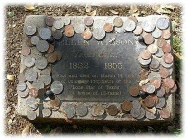meaning of coins on headstones