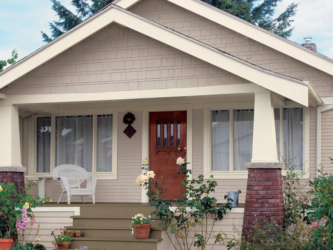 Exterior house color ideas craftsman - 20 Inviting Home Exterior Color Ideas Outdoor Design Landscaping Ideas Porches Decks