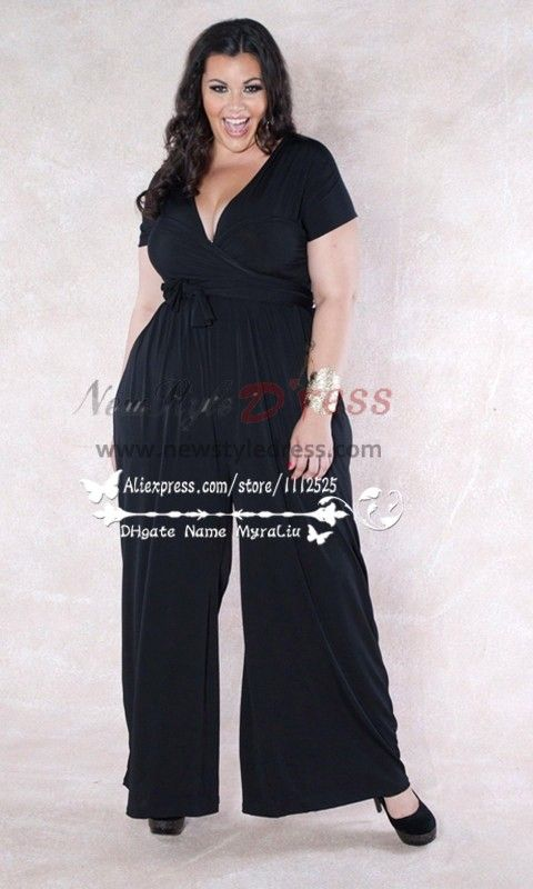 b3f39696435f Plus size custom made mother of the bride jumpsuits nmo-172