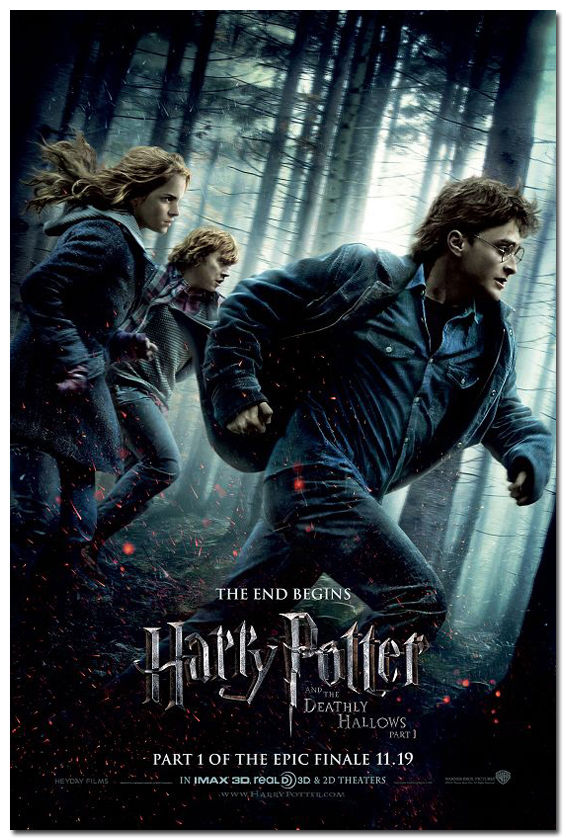 1124 Harry Potter And The Deathly Hallows Movie Art Silk Poster
