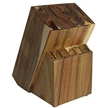 Messerblock Unbestuckt Holz Messerhalter Raf Von Coninx