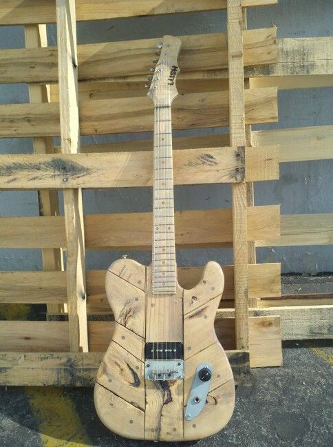 Pallet Guitar By Lush Guitars Vintage Guitars Musica