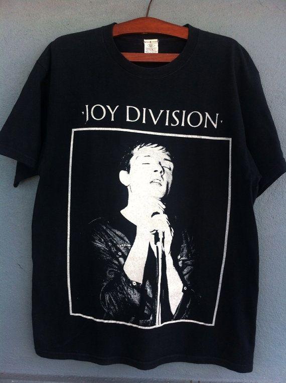f4f56f9866f5 Vintage 90s Joy Division Tshirt Tag Schwartz Made in by NECKTIE4U ...