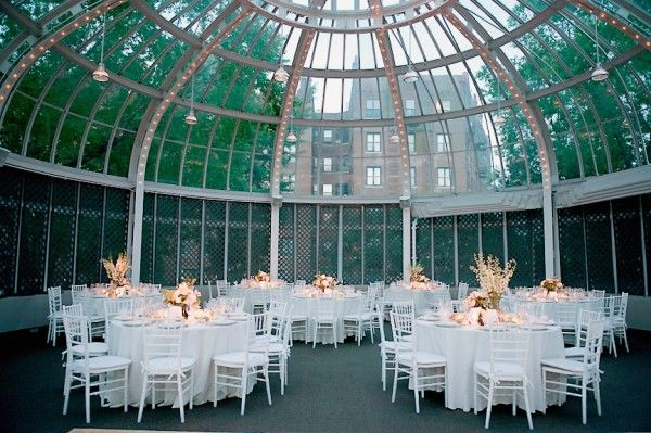 Brooklyn Botanic Garden Wedding Reception Gardens Chicago and
