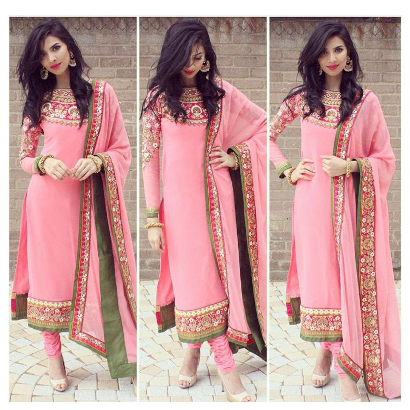 Pakistani desi Indian Bengali pink | Desi SWAG | Pinterest | Moda ...