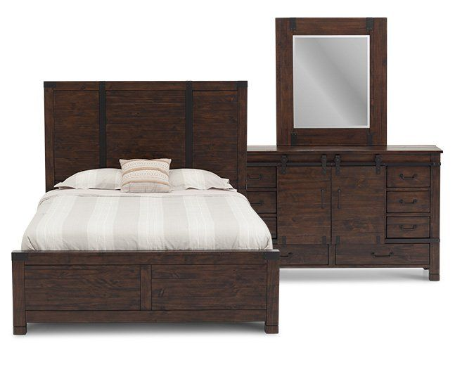 Colorado Panel Bedroom Set | boudoir makeover | Bedroom ...