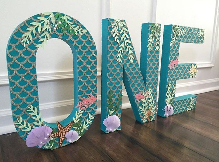 Pin By Craft My Occasion On Mermaid Under The Sea Party