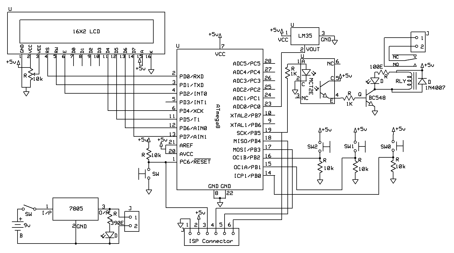 Automatic Temperature Controlled Fan