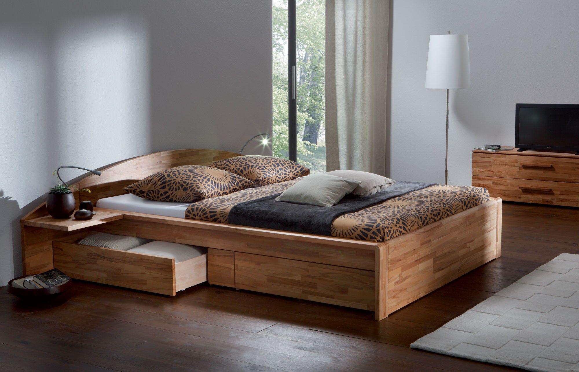 Hasena Woodline Berga Storage / Platform Bed with