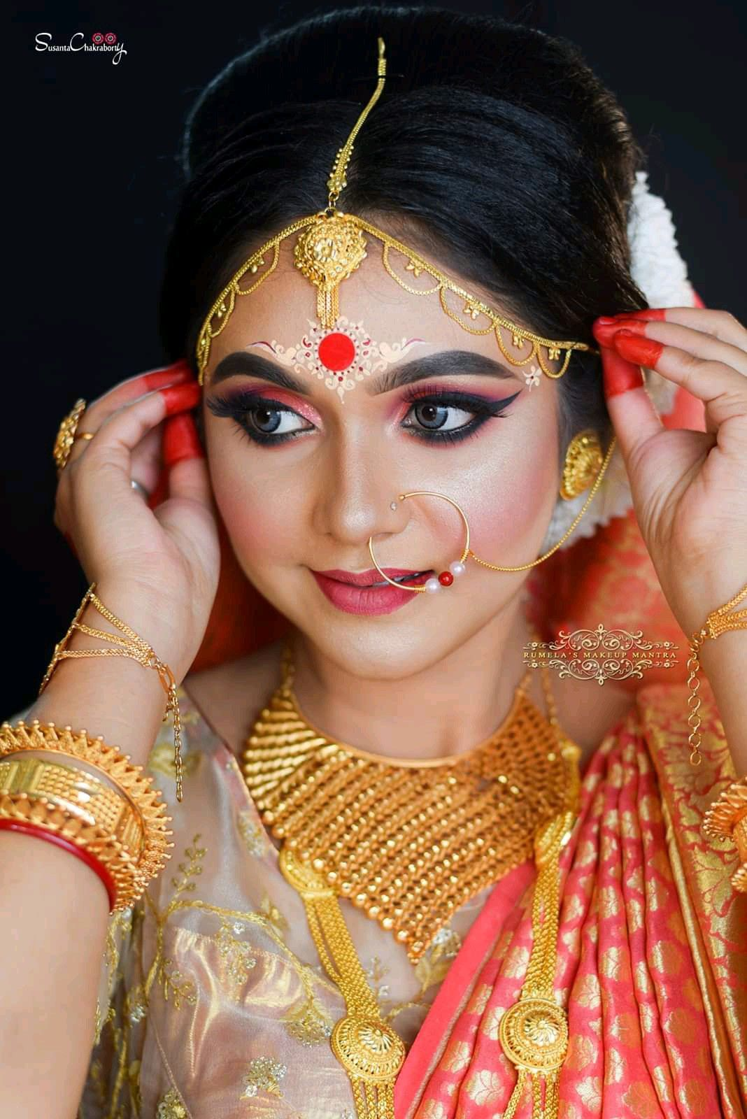 Pin by MADHUⓂ️ on bridal makeover in 2020 Bridal makeup