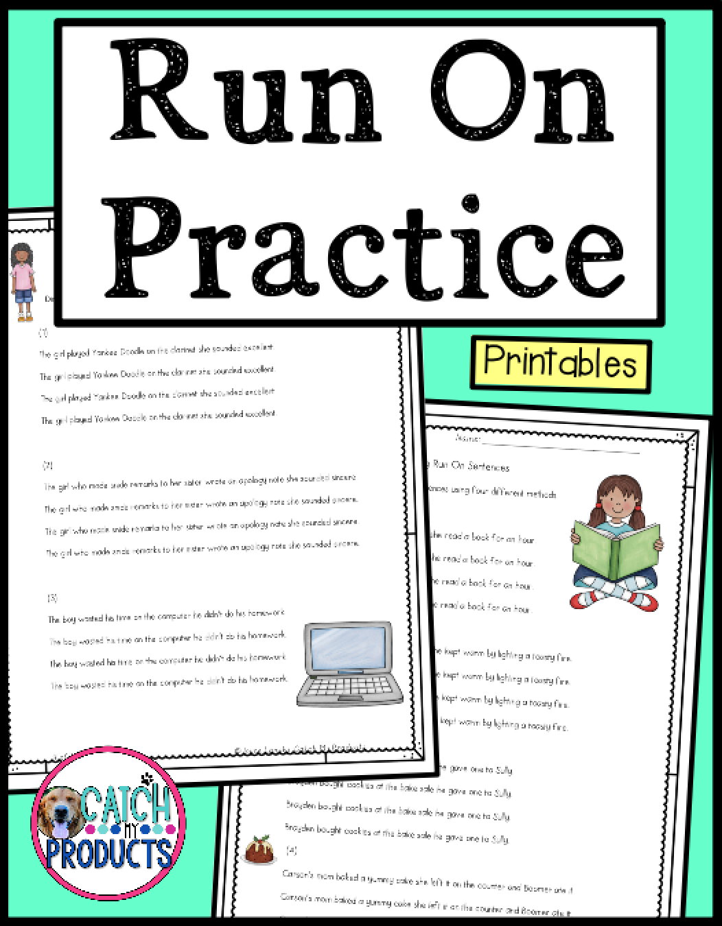 Run On Sentences Worksheets   Run on sentences [ 1350 x 1052 Pixel ]