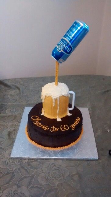 Gravity Defying Beer Mug Cake By Jill Yain Vegan
