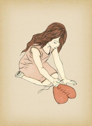 Broken But Mending With Images Giclee Art Print