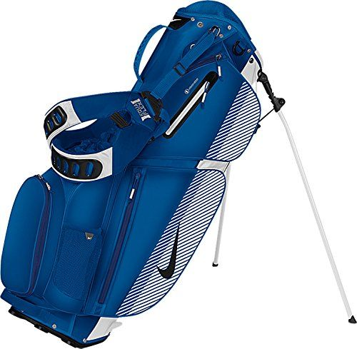 These great looking mens air sport golf carry stand bags by Nike come with  a ventilated air mesh pad and 3 full length divider system 769c0b669662c