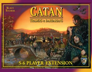 Traders and Barbarian 5-6 Player Expansion, 4th Edition