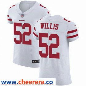 Hot Nike San Francisco 49ers #52 Patrick Willis White Men's Stitched NFL  hot sale