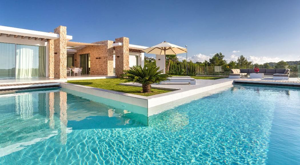 Magnifique villa de luxe ibiza l emplacement et confort uniques pinterest villa de luxe for Maison luxe ibiza