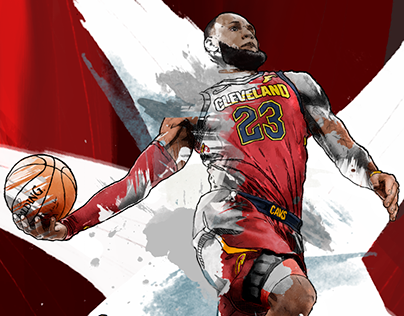 Check Out New Work On My Behance Portfolio Lebron James Illustration Red Http Be Net Gallery 68319271 Lebron Ja Lebron James Lebron James Lakers Lebron