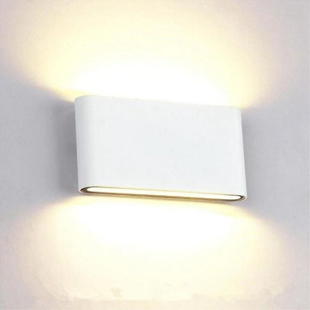 Outdoor Bedside Wall Lamp Stair Light Waterproof Led Aluminum 6W//12W 85V-265V
