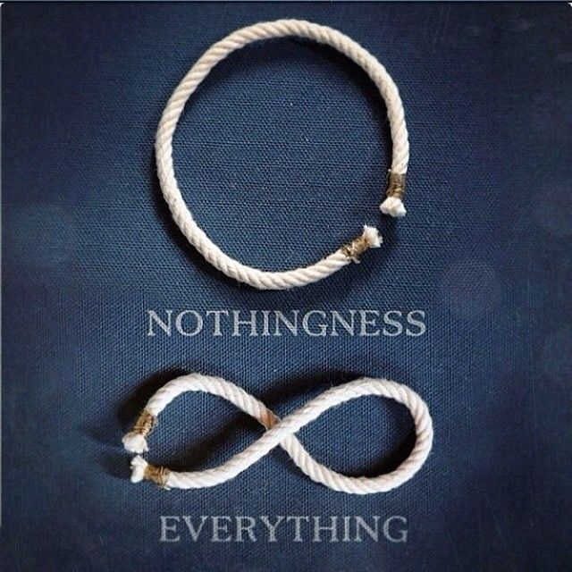 """""Everything is nothing, with a twist."" -Kurt Vonnegut, Slaughter-house Five -"""