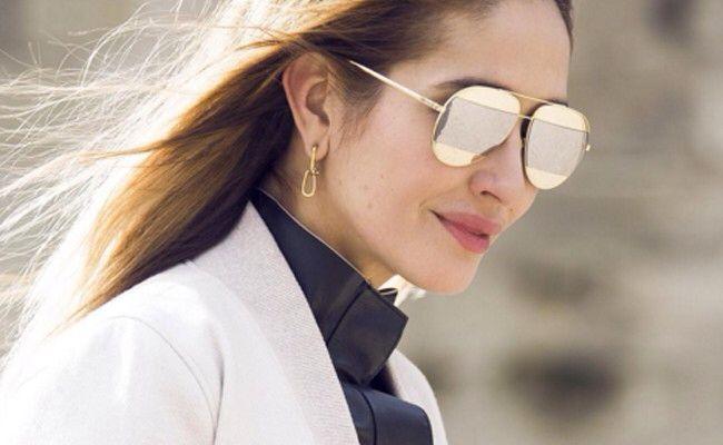 Tiany Kiriloff - Dior Split sunglasses