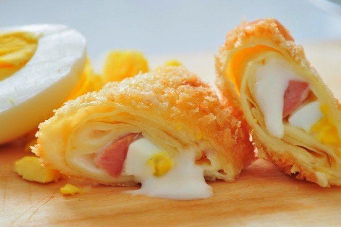 Resep Risoles Mayo Daging Asap Paling Enak Rahasia Id Cemilan Resep Masakan