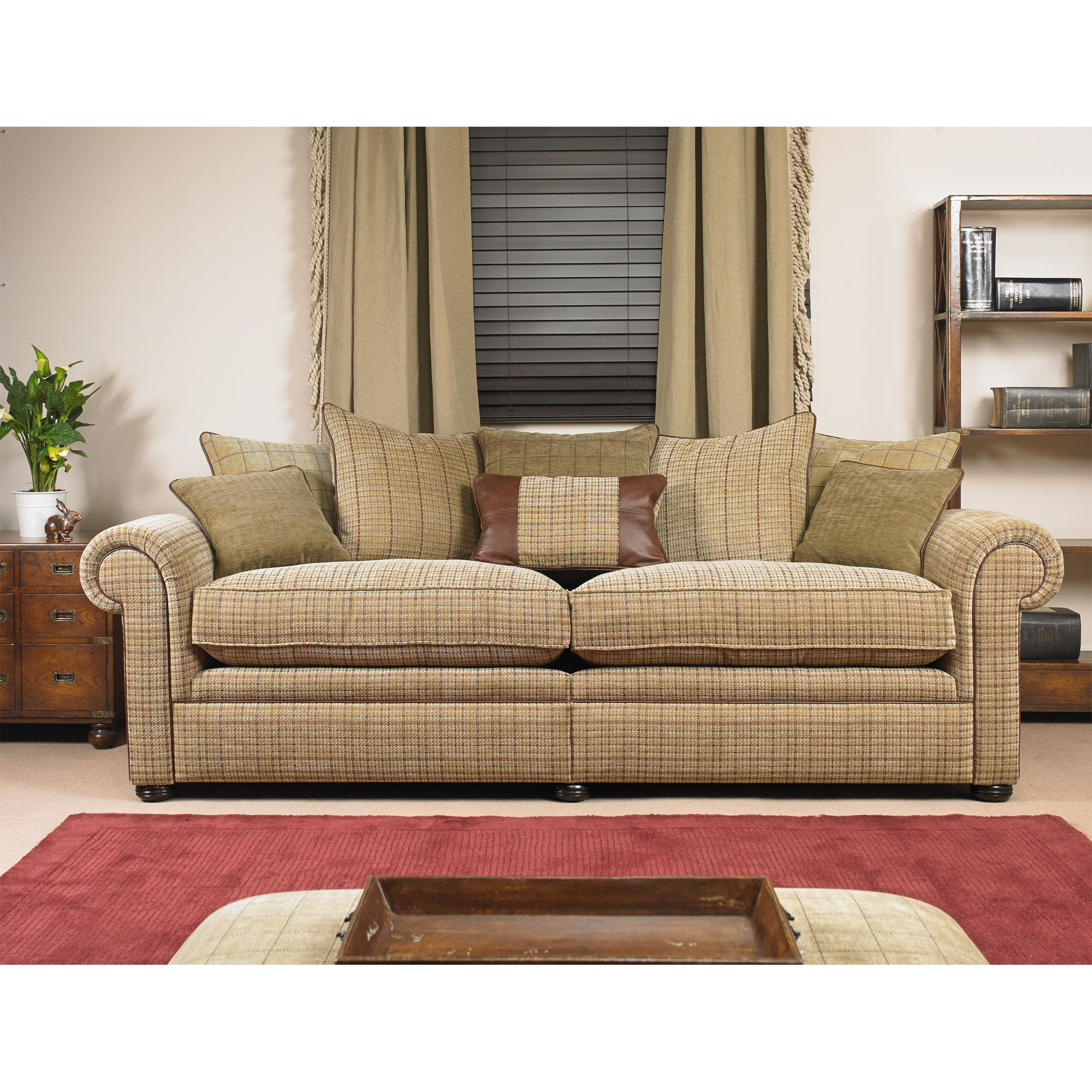 Small Sectional Sofa Wade Upholstery Barnaby Grand Scatter Back Sofa from http