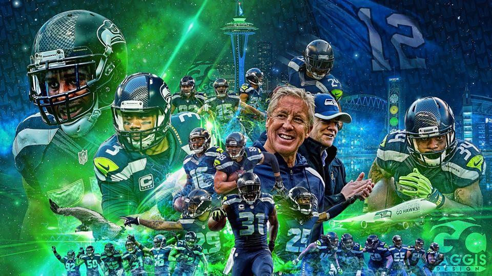 Seattle Seahawks Seattle seahawks football, Seattle
