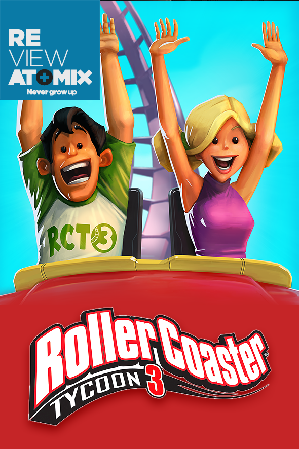 Ver Review – RollerCoaster Tycoon 3 (iOS)