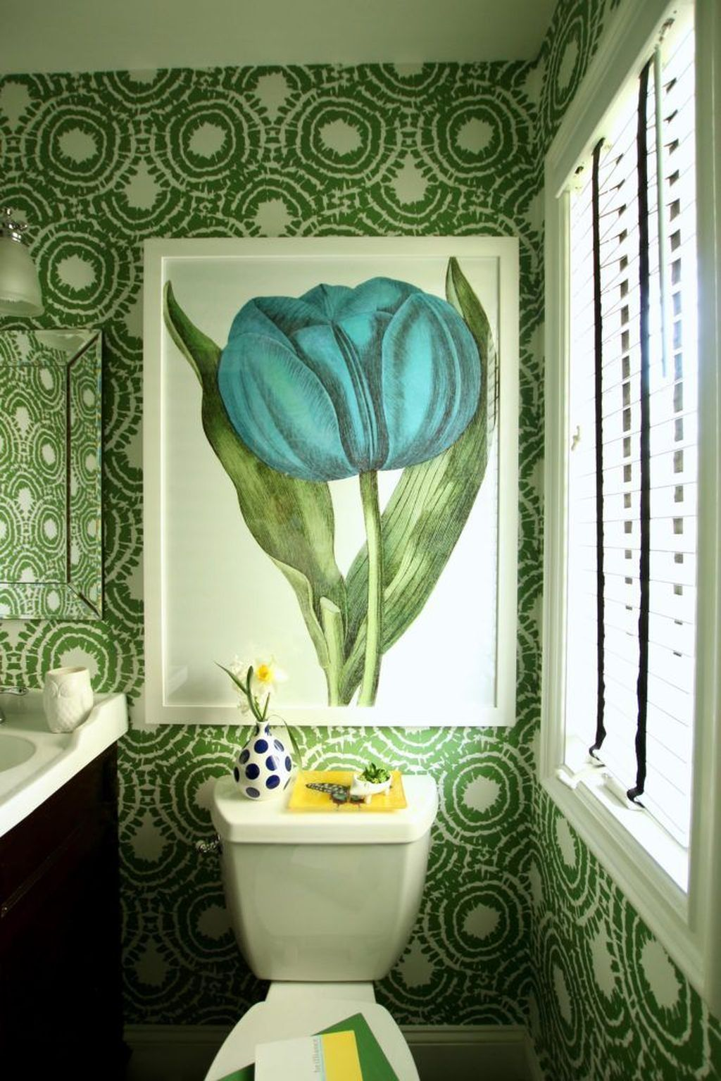 44 Stunning Spring Bathroom Decor Ideas For Small Space ...